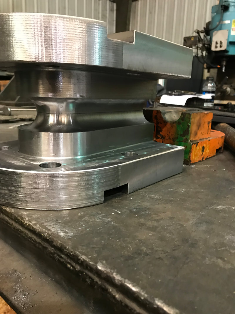 Tight Radius Bending Die Fabrication And Sales For #4 Pines C-Frame Hydraulic Press Bending.