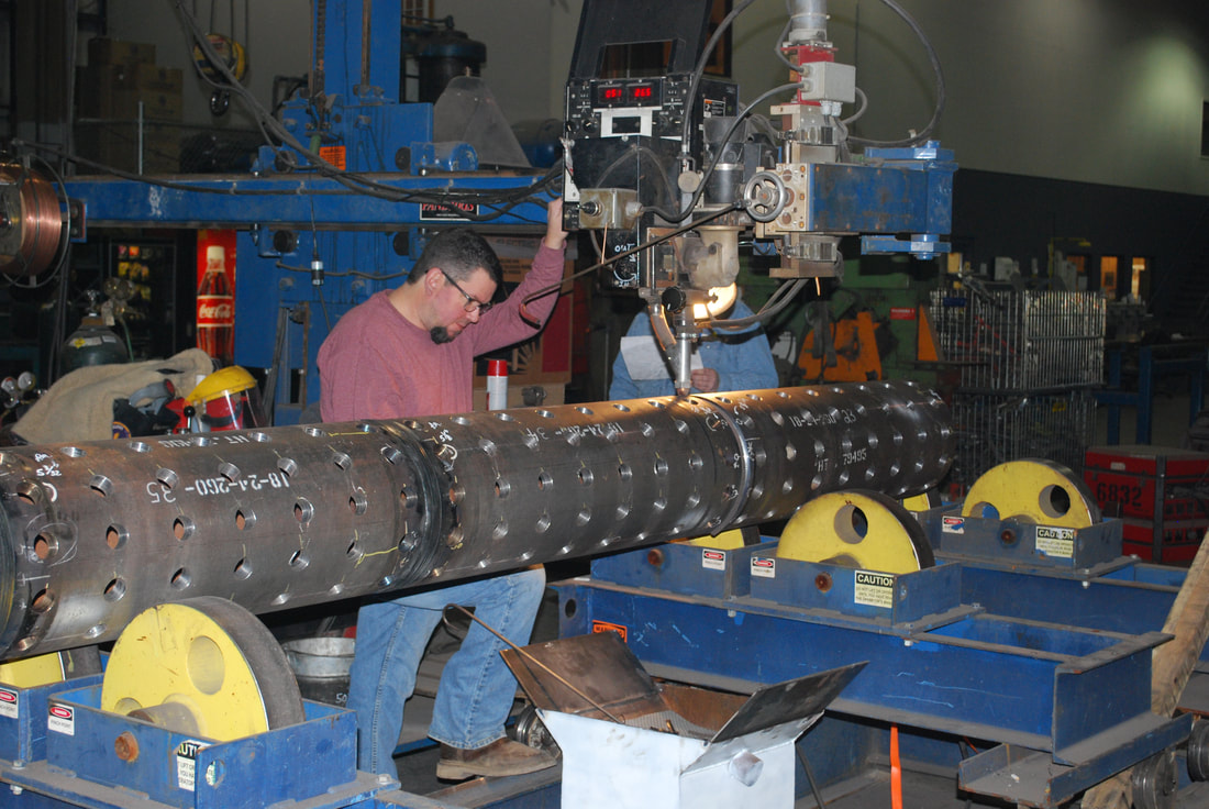 Submerged Arc Pipe Welding At The Metro Boiler Tube Ringgold Facility